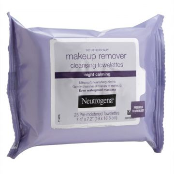 Lenço Demaquilante Neutrogena Night Calming 25 Unidades Neu