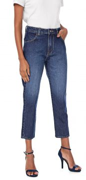 Calça Jeans Bloom Mom Stone Azul Bloom