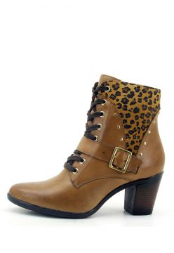 Bota Atron Shoes Ankle Boot Whisky 9066 Atron Shoes