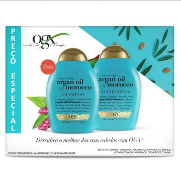 Kit Shampoo + Condicionador OGX Argan Oil of Morocco 385ml