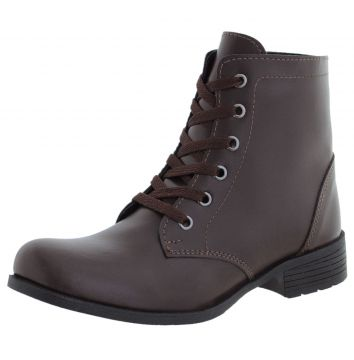 Bota Crshoes Coturno Cano Curto Cafe CRSHOES