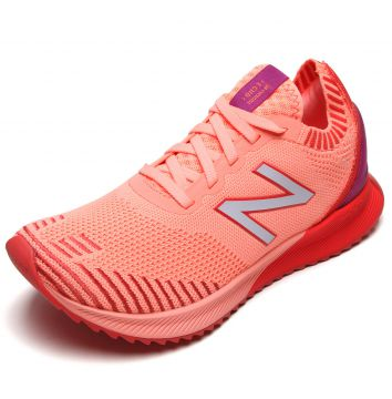 Tênis New Balance Fuelcell E Coral New Balance