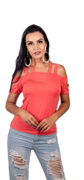Blusa Arsenal Manga Curta Rosa Arsenal Textil
