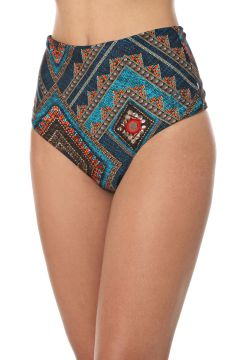 Calcinha Dupla Face Blue Man Hot Pant Estampada Azul-marinh