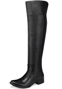 Bota Montaria Cano Alto Over The Knee em Couro EC Shoes Pre
