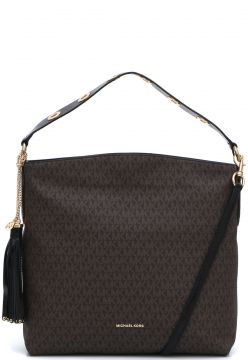 Bolsa Michael Kors Brooklyn Lg Shldr Marrom Michael Kors