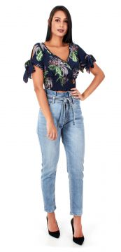 Blusa Manga Curta Chaire Chaire