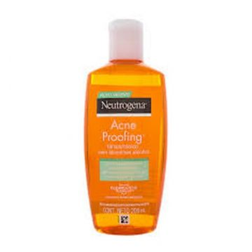 Neutrogena Acne Proofing Tonico Sem Alcool 200ml Neutrogena