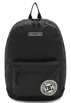 Mochila DC Shoes Backstack Kvj0 Preta DC Shoes