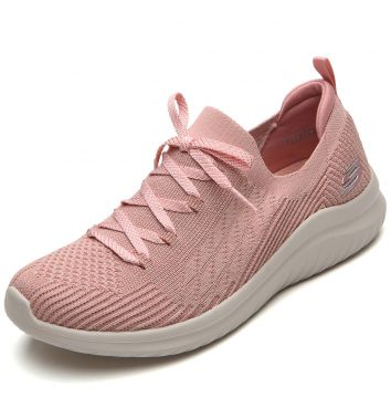 Tênis Skechers Ultra Flex 2.0 Rosa Skechers