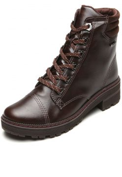 Bota Coturno Dakota Chunky Marrom Dakota