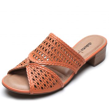 Tamanco Dakota Lasercut Laranja Dakota