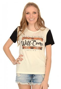 Blusa Red Moon Off-white Red Moon