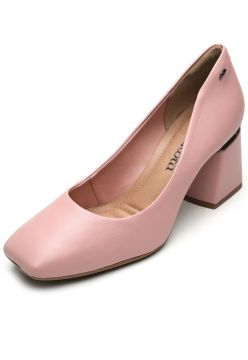 Scarpin Dakota Liso Rosa Dakota