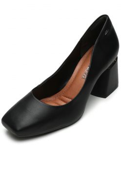 Scarpin Dakota Liso Preto Dakota