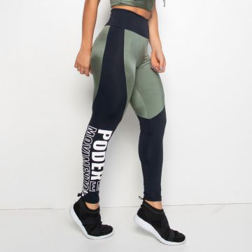 Legging Fitness Verde Trilobal Motion Honey Be LG1175 Verde