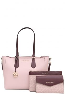 Bolsa Michael Kors KIMBERLY LG 3 IN 1 Rosa Michael Kors