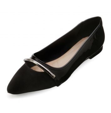 Sapatilha Lady Queen AM18-34017 Preto Lady Queen