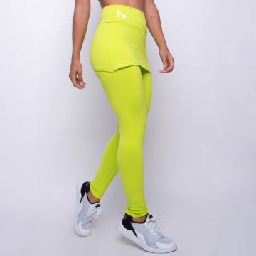 Legging Fitness com Tapa Bumbum Verde Honey Be LG1298 Verde