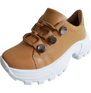 Tenis AC Chunky Light Tan Multicolorido AC