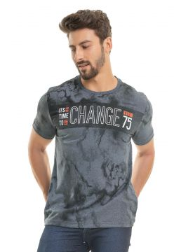 Camiseta Bugaloo Change Cinza Bugaloo