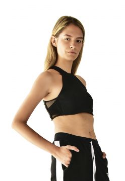 Top Brohood Cropped Donna Preto Brohood