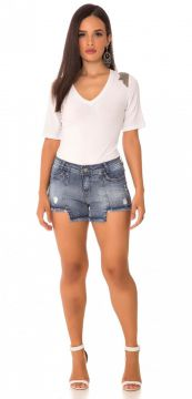 Short Jeans Express Médio Lily Azul Use Jeans