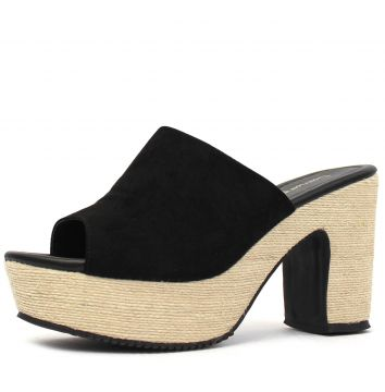 Tamanco Damannu Shoes Saint Preto Damannu Shoes