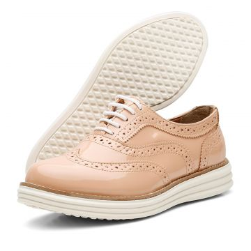 Oxford Leticia Alves Casual Nude Dexshoes