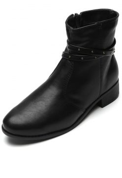 Bota DAFITI SHOES Tachas Preta DAFITI SHOES