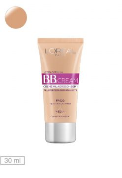 BB Cream Loreal Paris Médio Cobertura Natural 30ml L Oreal