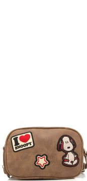 Bolsa Snoopy Patches Nude Snoopy