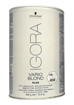 Igora Vario Blond Plus - Fibre Bond Technology 450g Schwarz