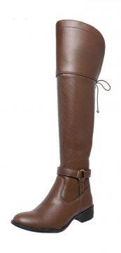 Bota Mega Boots Over the Knee Caramelo Mega Boots