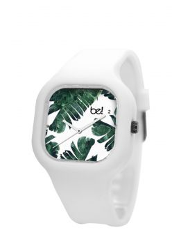 Relógio Bewatch Tropical Pulseira Silicone Branco Bewatch