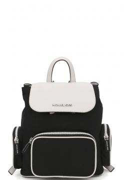 Mochila Michael Kors ABBEY MD Preto Michael Kors