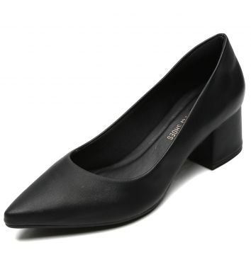 Scarpin DAFITI SHOES Liso Preto DAFITI SHOES