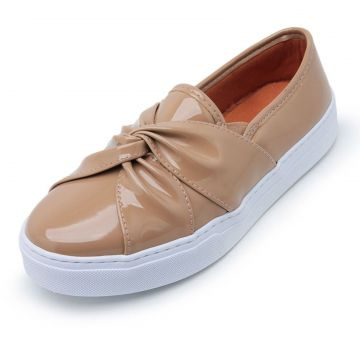 Tênis Casual Slip On CRISTAISHOES Nude Nude CRISTAISHOES