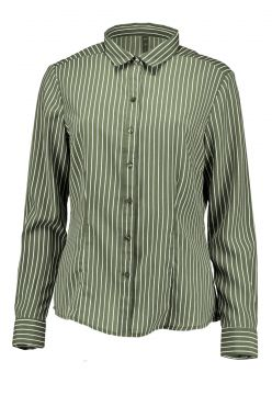 Camisa the style box - estampa listras militar The Style Bo