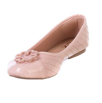 Sapatilha Bico Redondo Butique de Sapatos Rosa Butique de S