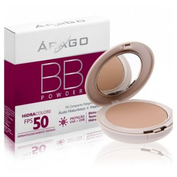 Arago Bb Powder Hidracolors FPS50 Bege 12g Arago