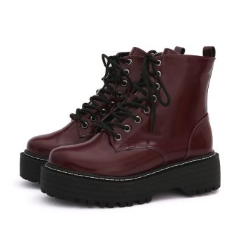 Bota Coturno Its Shoes Marsala ITS SHOES