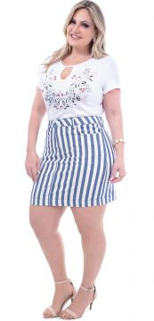 Minissaia Attribute Jeans Plus Size Listrada Attribute Jean