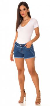 Short Jeans Express Médio Lindsey Azul Use Jeans
