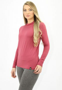 Camiseta Térmica Question Sport Gola Redonda Com Fleece Int