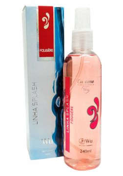 Deo Colônia Splash Fougère Wu 240ml