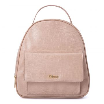 Blush Skin Croco Backpack CS Club Rosa