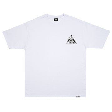 Camiseta Wanted - Logo nas Costas branco