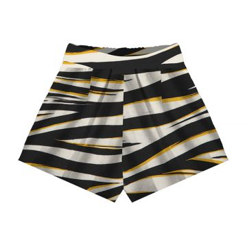 Short Viscose Sarjada Feminino Endless Preto