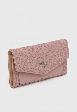 Carteira Guess Letters Rosa